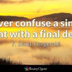 F Scott Fitzgerald Famous Quotes Pinterest