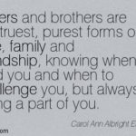 Family Brother And Sister Quotes Pinterest