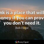 Famous Banking Quotes