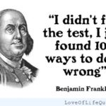 Famous Ben Franklin Quotes Twitter