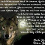 Female Wolf Quotes Tumblr