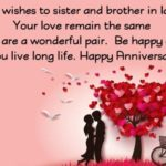 First Anniversary Wishes For Sister Facebook