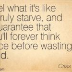 Food Waste Quotes Tumblr