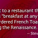 French Toast Quotes