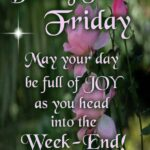 Friday Blessing Quotes Images Facebook
