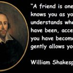Friendship Day Quotes By William Shakespeare Facebook