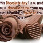 Funny Chocolate Day Status