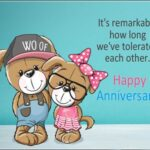 Funny Happy Anniversary Message