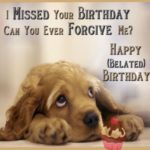 Funny Late Birthday Wishes Facebook