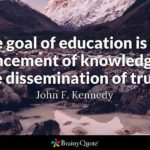 Goal Of Education Quotes Pinterest