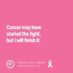Going Through Cancer Quotes