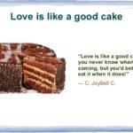 Good Cake Quotes