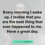 Good Day Quotes For Him