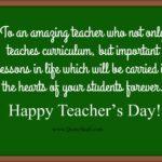 Good Message For Teachers Day Twitter