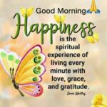 Good Morning Happiness Quote Pinterest