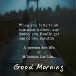 Good Morning Trust Quotes Tumblr