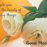 Good Morning Wishes With Yellow Roses Facebook