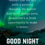 Good Night With Beautiful Quotes