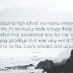 Goodbye Quotes For Graduating Students Tumblr
