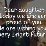 Graduation Quotes For My Daughter