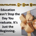 Graduation Quotes For Son From Mom