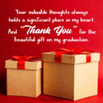 Graduation Thank You Card Sayings