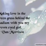 Green Eyed Girl Quotes