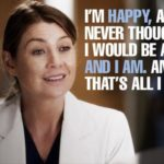 Grey's Anatomy Short Inspirational Quotes Twitter