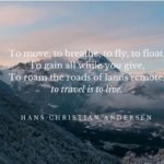 Hans Christian Andersen Travel Quote