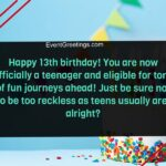 Happy 13th Birthday Quotes Pinterest