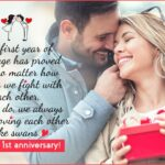 Happy 1st Wedding Anniversary To My Husband Twitter