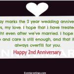 Happy 2 Year Wedding Anniversary Twitter