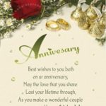 Happy Anniversary Wishes For Parents Pinterest