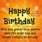Happy Birthday Christian Quotes Facebook