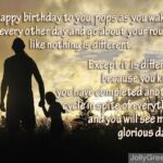 Happy Birthday Dad From Daughter Poems Pinterest