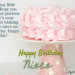 Happy Birthday Niece Messages Pinterest