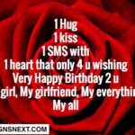 Happy Birthday Sms For Girlfriend Facebook
