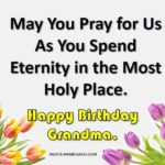 Happy Birthday To My Granddaughter In Heaven