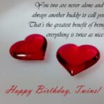 Happy Birthday Twins Poems Pinterest