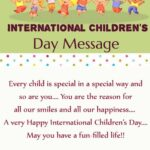 Happy Children's Day Greetings Facebook