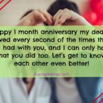 Happy First Month Marriage Anniversary Twitter