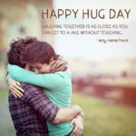 Happy Hug Day With Name Twitter