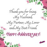 Happy Marriage Anniversary To Husband Facebook