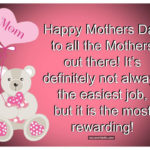 Happy Mothers Day To All Mothers Twitter