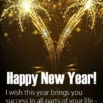 Happy New Year Messages For Friends And Family Pinterest