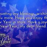 Happy New Year To My Best Friend Quotes