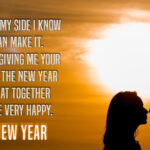 Happy New Year Wishes For Your Love Pinterest
