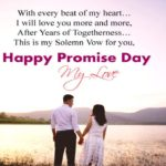 Happy Promise Day For Girlfriend Pinterest