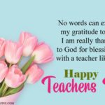 Happy Teachers Day Sister