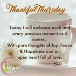 Happy Thankful Thursday Quotes